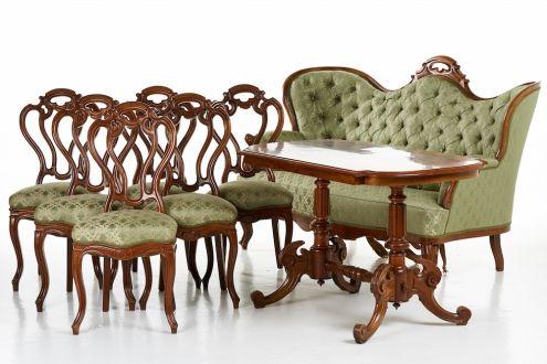 Комплект мягкой мебели из 8 частей