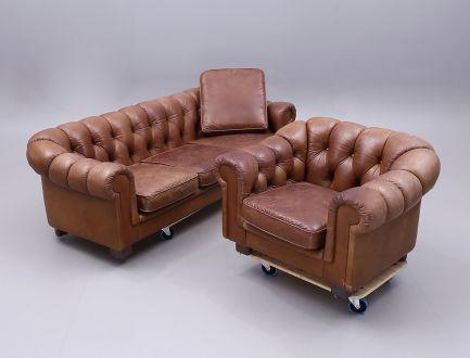 Kомплект мягкой мебели  Честерфилд