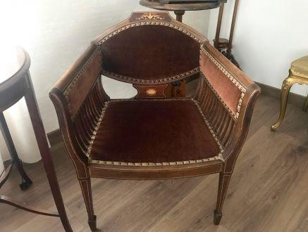 Антикварное эдвардианское кресло