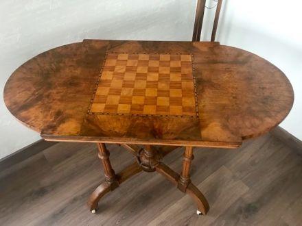 Шахматный антикварный стол