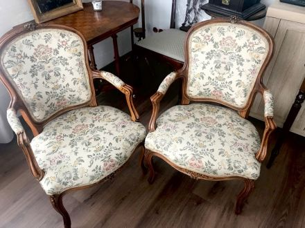 Кресла рококо, пара