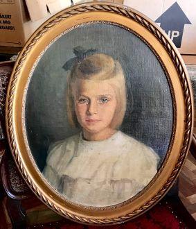 Портрет  девочки, 1917г