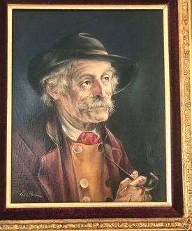 Портрет  пожилого джентльмена