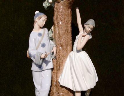 "Lladro, лампа-статуэтка ""Балет"