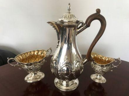 Викторианский кофейный сервиз