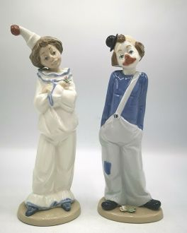 Две фигурки клоунов