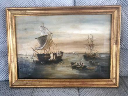 Морской пейзаж начало 1900-х
