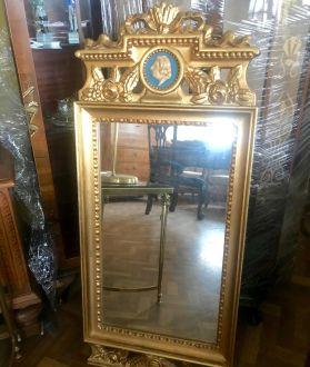 Зеркало, ампир