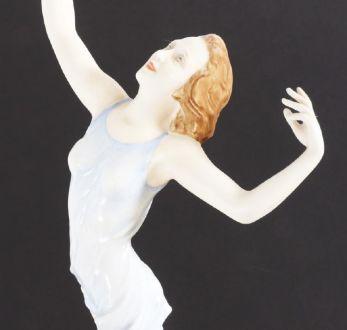 АР-ДЕКО, танцовщица, Rosenthal