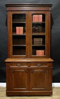 Книжный шкаф , орех