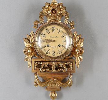 Картельные позолоченный часы