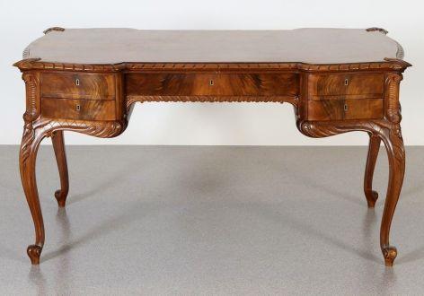 Письменный стол в стиле Чиппендейл