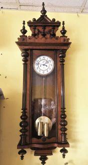 Старинные часы Gustav Becker