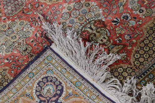 Старинный шелковый персидский ковёр