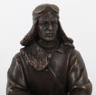 """Statuete """"Polārais pilots"""", bronza"""